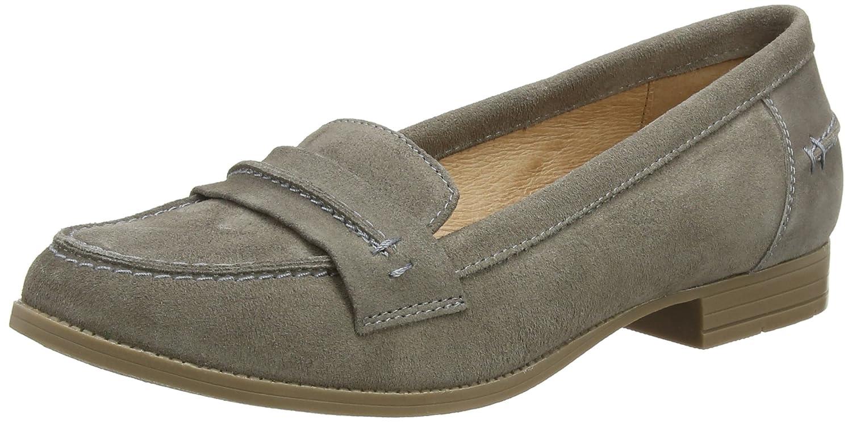 Hush Puppies Cathcart Knightsbridge - Mocasines Mujer, color gris - gris (gris), talla 37 EU: Amazon.es: Zapatos y complementos