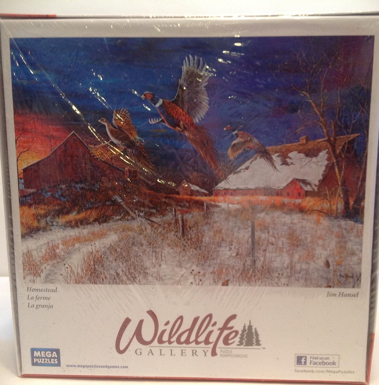 Wildlife Gallery 1000 Piece Mega Puzzle Homestead