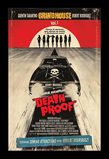 DEATH PROOF Movie PHOTO Print POSTER Quentin Tarantino Grindhouse Textless 001