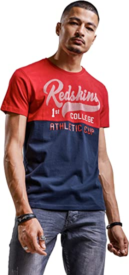 TALLA M. Redskins Pitre Hecta Camiseta para Hombre