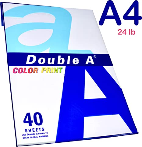 Amazon.com: A4 papel de impresión de color Premium – 40 ...