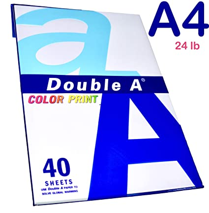 A4 Premium Color Print Paper - 40 Sheets - Imported from