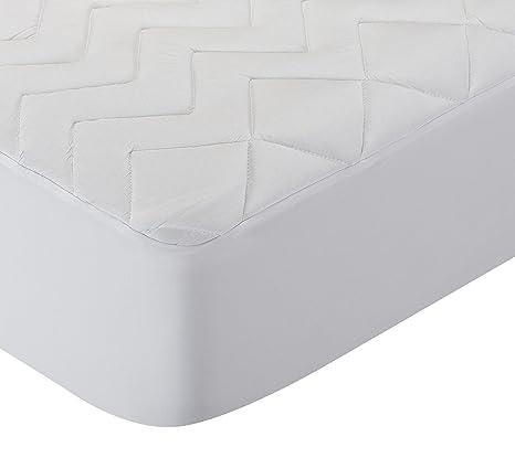 Pikolin Home - Protector de colchón acolchado cubre colchón lyocell, híper-transpirable e impermeable, 105 x 190/200 cm, cama 105 (Todas las medidas): ...