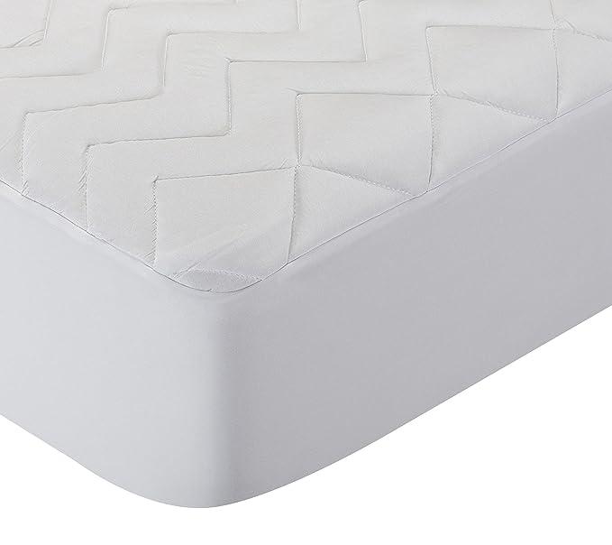 Pikolin Home - Protector de colchón acolchado lyocell, híper-transpirable e impermeable, 90 x 200 cm, cama 90 cm: Amazon.es: Hogar