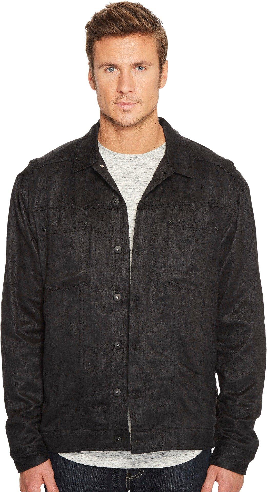 Publish  Men's Jasiah Trucker Jacket Black Medium