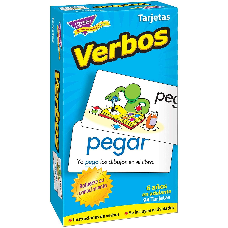 Amazon.com: TREND enterprises, Inc. T-53020BN Verbos ...