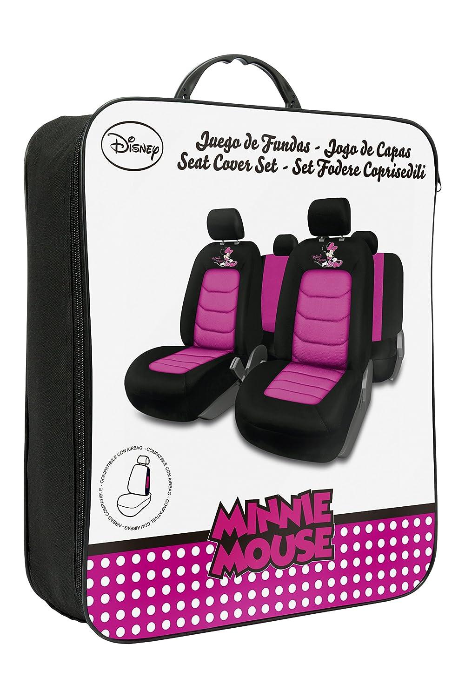 Disney Minnie MINNIE109 Jeu Minnie Case Noir//Rose