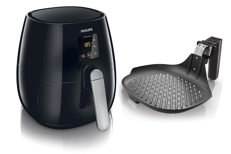 Philips Viva Collection HD9236/20 - Freidora (Low fat fryer, 0,8 kg, Rapid Air, 60 min, Solo, Negro): Amazon.es: Hogar