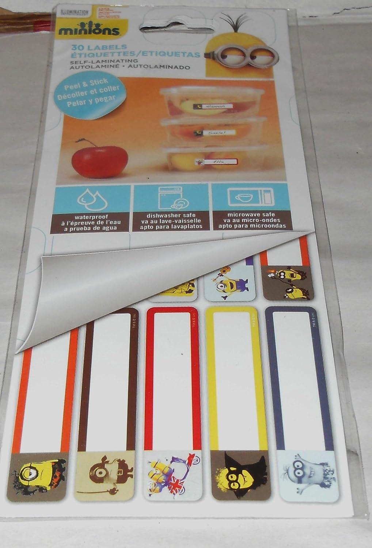 Amazon.com: Sandylion Minions Peel & Stick Labels