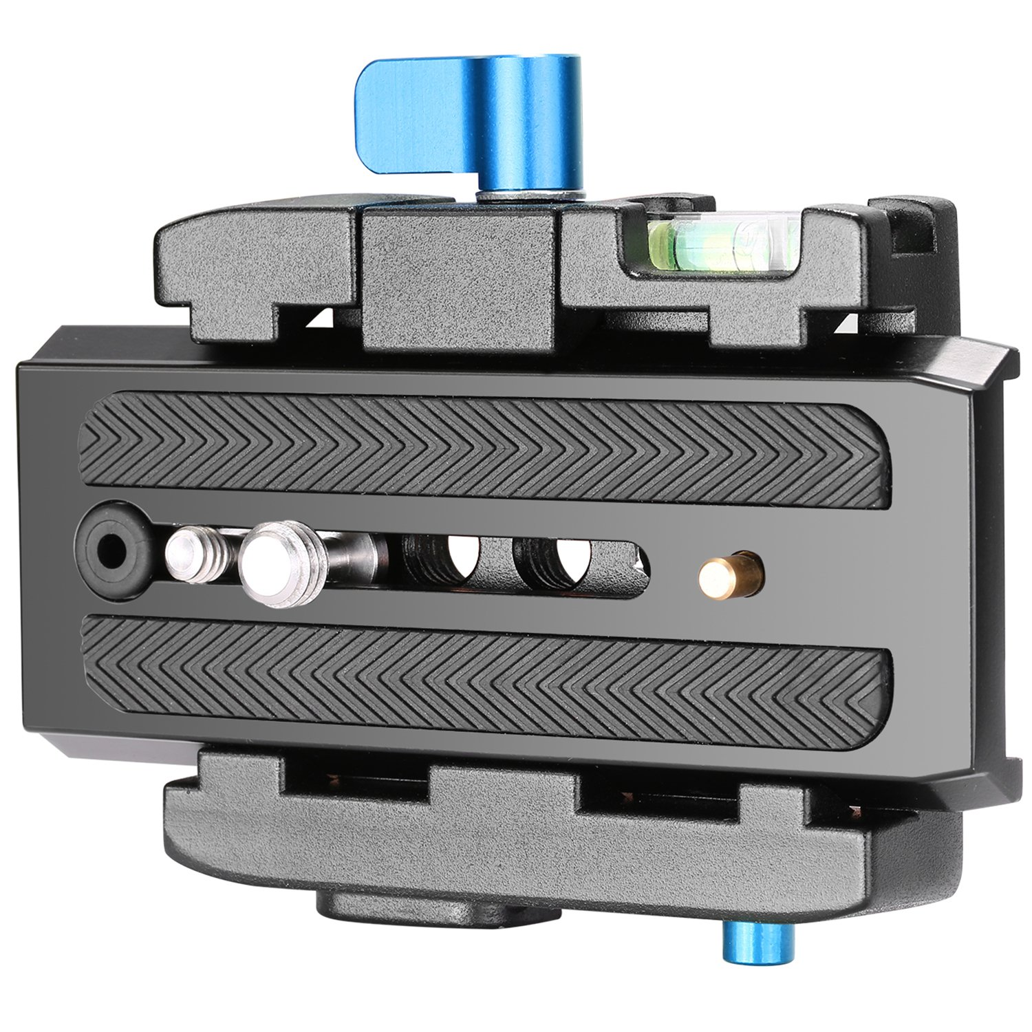 Neewer Adapter /& Quick Release Plate Professional Aluminum Alloy with 1//4/&3//8 Screws for Digital SLR Camcorders Manfrotto 501HDV 503HDV 701HDV 577//519//561//Q5