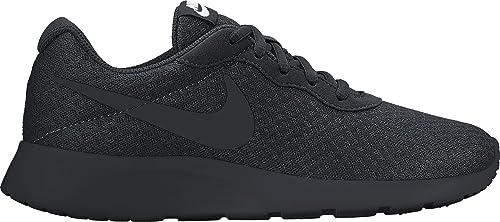 Nike Damen Tanjun Laufschuhe, Schwarz Black-White, 44.5 EU