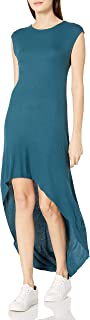 product image for good hYOUman Women's Alexis Atlantic Deep Hi-Low Dress