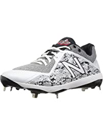 New Balance 4040v4 Low Mens Baseball Cleat L4040v4 White/Camo