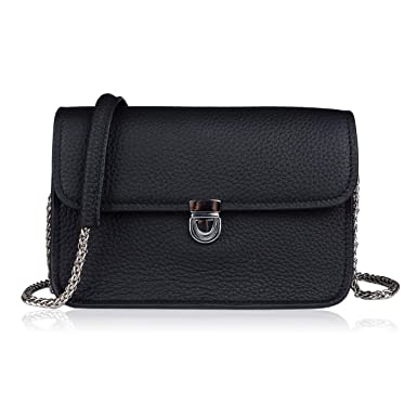 c89a6bc0610 Befen Women's Leather Designer Crossbody Envelope Purse, Small Cute Hipster Crossbody  Bag with Shoulder Chain