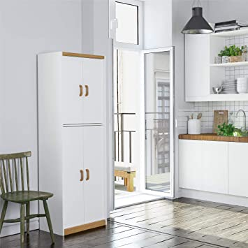 Ameriwood Home Deluxe 72 Kitchen Pantry Cabinet Amazon Ca Home