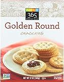 365 Everyday Value, Golden Round Crackers, 12 oz