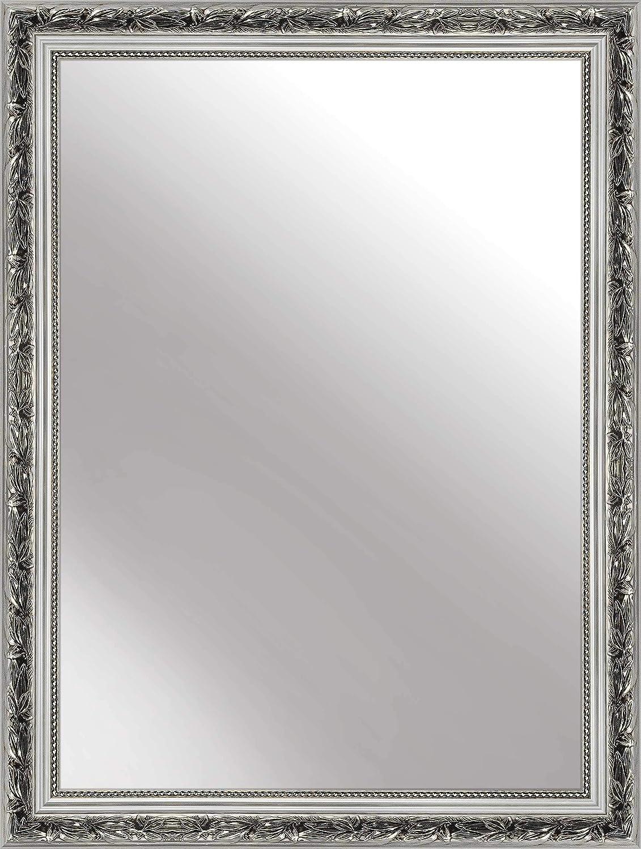 Blanco nielsen HOME Florentina Espejo de Pared 50 x 70 cm