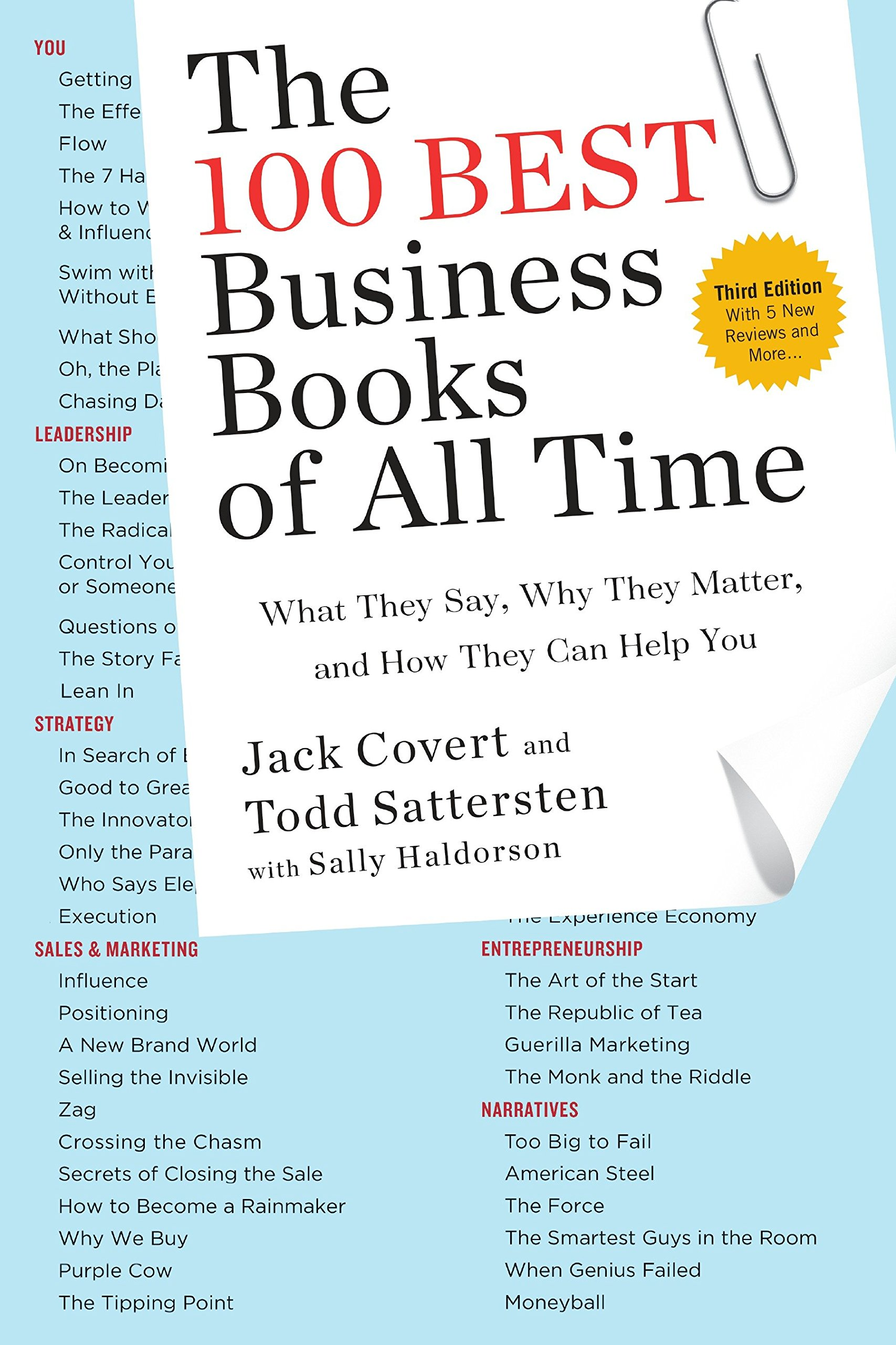The 100 Best Business Books of All Time: What They Say, Why