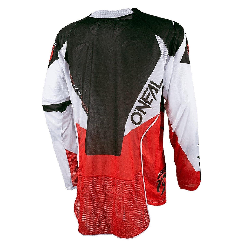ONeal Hardwear Jersey Flow Jag Weiß Schwarz Motorrad Moto Cross Enduro Quad