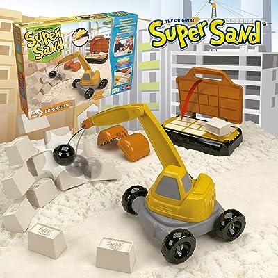Goliath 83290 Super Sand Construcción: Juguetes y juegos