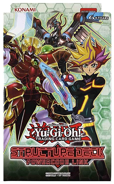 Amazon.com: Yu-Gi-Oh! Structure Deck - Powercode Link: Toys ...