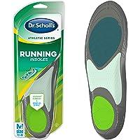 Dr. Scholl's Athletic Series - Plantillas para correr para hombre, tamaño pequeño, 1 par, Hombres, 7.5-10
