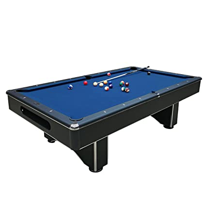 How To Install A Pool Table Slate Installation Home Billiards >> Amazon Com Harvil Galaxy Slate Pool Table 8 Foot With Blue