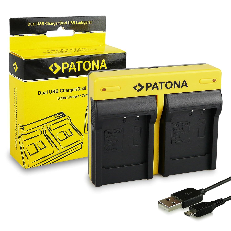 Patona slim micro-USB cargador F canon lp-e12 EOS M