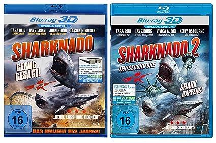 Sharknado 1+2 Real 3D Blu-ray Das Hailight des Jahres Alemania Blu ...
