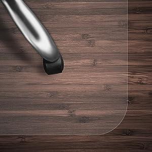 Kleinmöbel & Accessoires Büro & Schreibwaren Bodenschutzmatte Bürostuhlunterlage Bodenmatte Stuhlunterlage Transparent Klar
