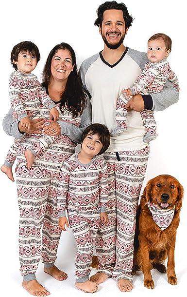 Burts Bees Baby Family Jammies, Holiday Matching Pajamas, Organic Cotton Pjs Coche Cama para Mujer
