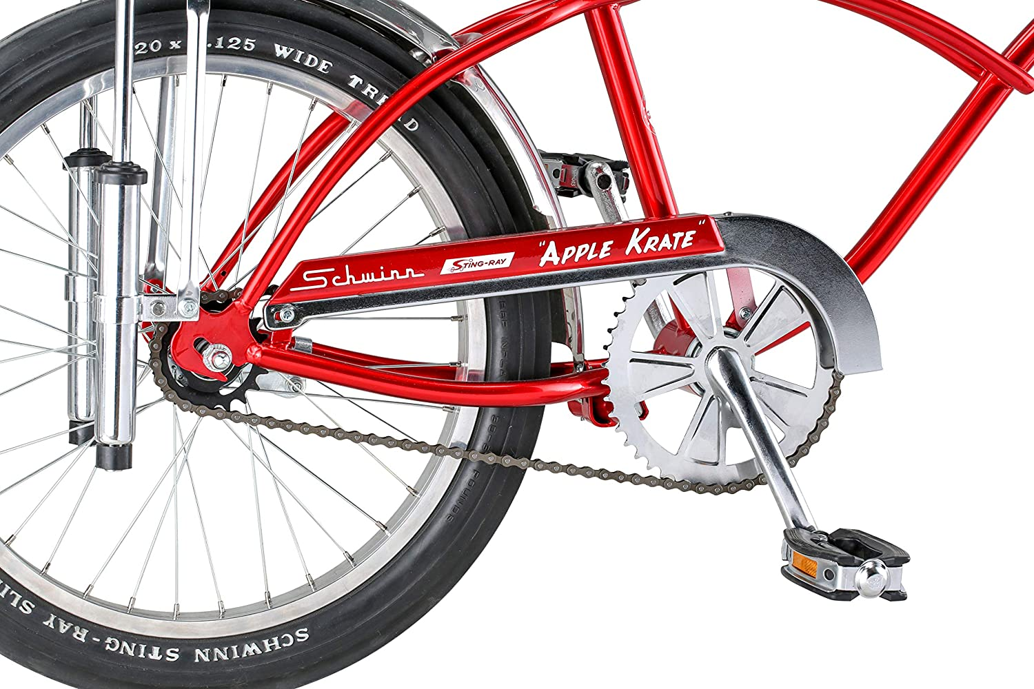 82ad80595be Amazon.com : Schwinn Apple Krate Anniversary Bike with Sting-Ray Frame  (Limited Edition) : Sports & Outdoors