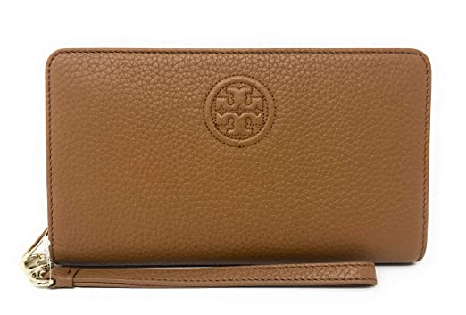 e9b6a14da1c4 Amazon.com  Tory Burch Women s Bombe Smartphone Leather Wristlet ...