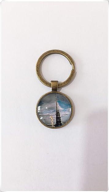 heng yuan tian cheng Paris Eiffel Tower Llavero Cadena ...