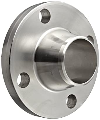Weld Neck Flange w// 8 Holes Smith Cooper 150# Schedule 40 316 Stainless Steel 8 in