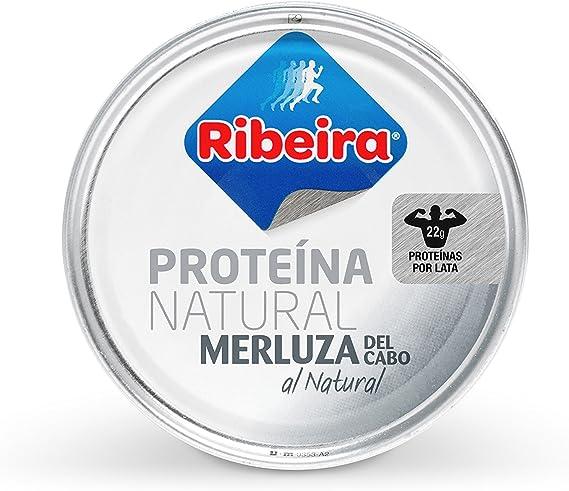 Ribeira - Proteina Natural - Merluza al Natural - 1 x 160g ...