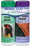 Nikwax Softshell Cleaning & Waterproofing Duo-Pack