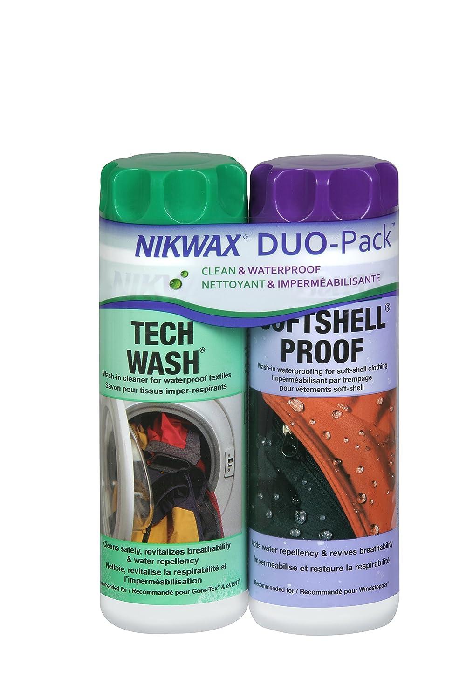 Nikwax Softshell Twin Pack Nixwax 112