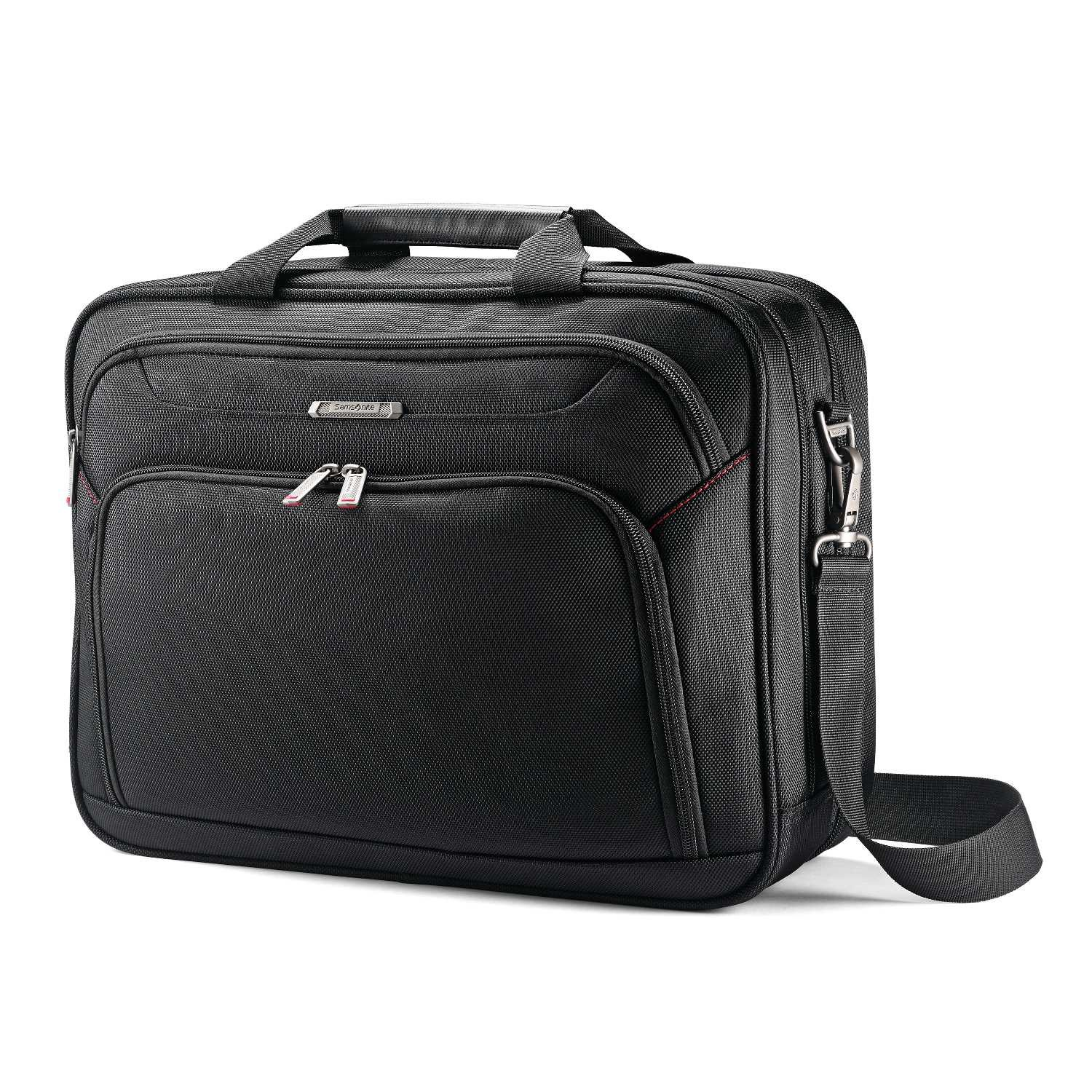Samsonite Xenon 3.0 Two Gusset Brief-Checkpoint Friendly Laptop Bag, Black, One Size by Samsonite