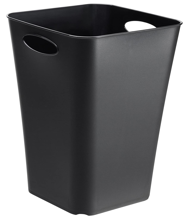 Design-Aufbewahrungsbox Living aus Kunststoff (PP), universell einsetzbar, auch als Schirmständer oder Geschenkpapier-Organizer, 23 l, ca. 29.5 x 29.5 x 39.5 cm (LxBxH), cappuccino Rotho 1112807422