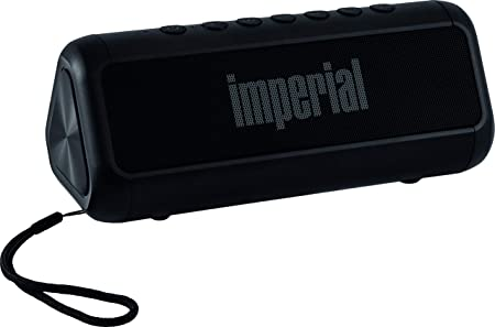 Imperial Bas 6 Solar Bluetooth 4 1 Stereo Lautsprecher 2x 8 Watt Microsd Usb Aux 2 500mah Schwarz Audio Hifi
