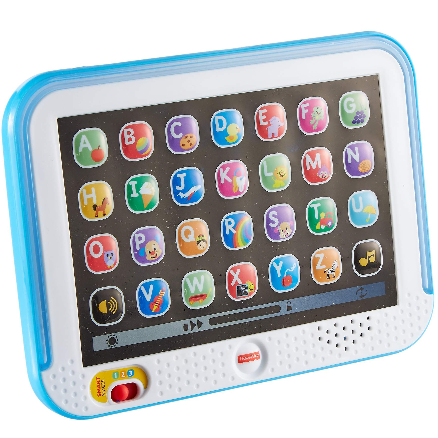 Fisher-Price Laugh & Learn Smart Stages Tablet, Blue by Fisher-Price (Image #11)