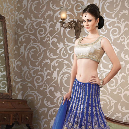Amazon Com Tattoo Ideas Free Game Appstore For Android: Amazon.com: Indo Western Lehenga Designs For Indian Girls