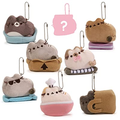 "GUND Pusheen Surprise Series #3 Places Cats Sit Stuffed Animal Plush, 2.75"": Toys & Games"