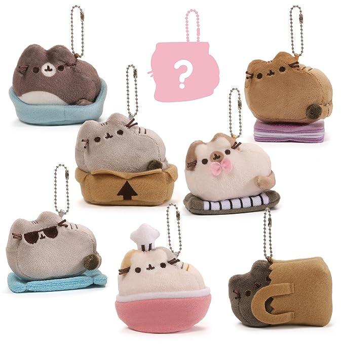 """GUND Pusheen Surprise Series #3 Places Cats Sit Stuffed Animal Plush, 2.75"""""""