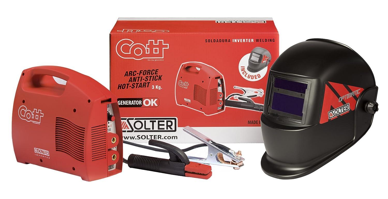 Solter 04100 Equipo de soldar electrodo con pantalla electrónica: Amazon.es: Bricolaje y herramientas