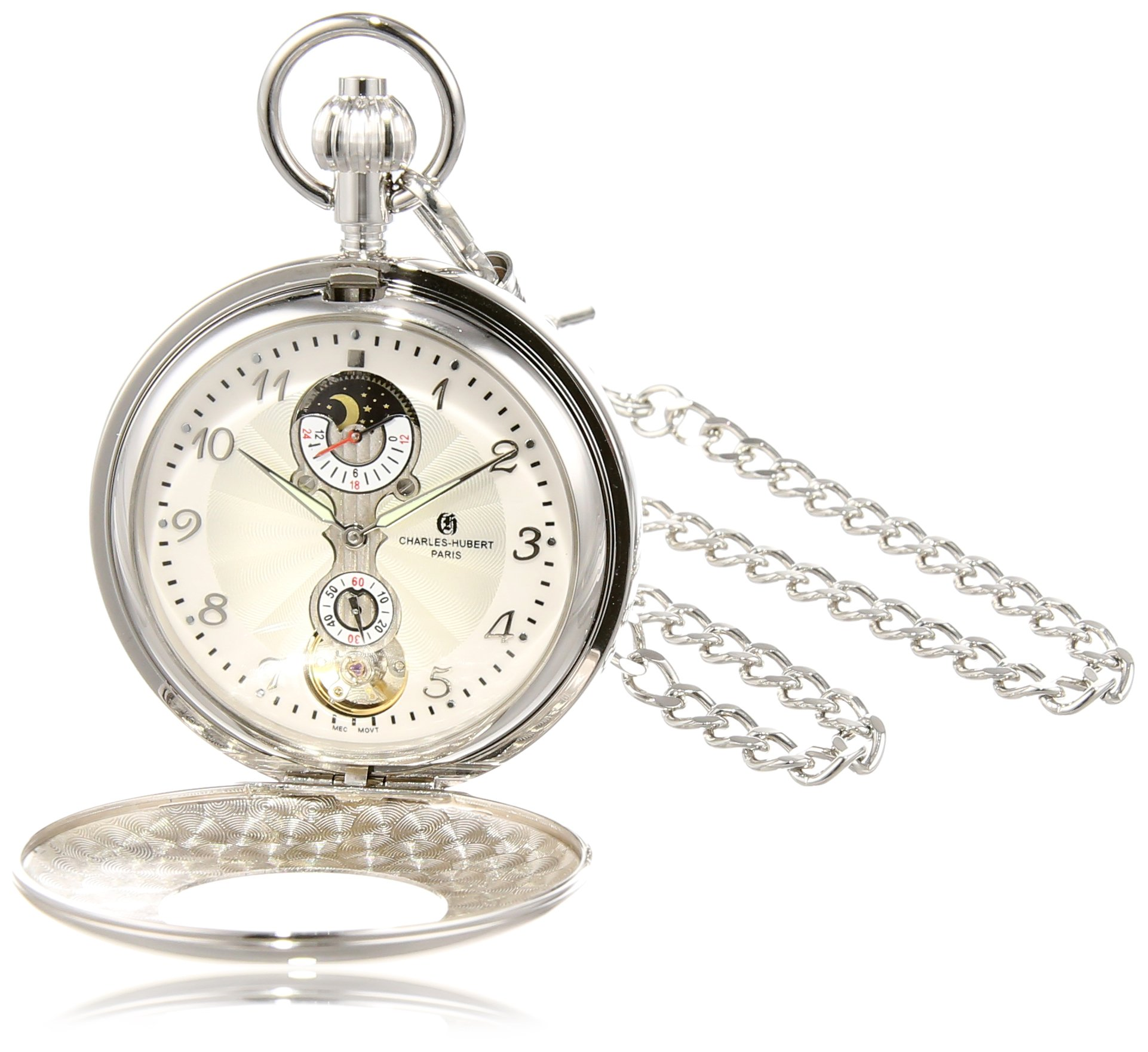 Charles-Hubert, Paris 3674 Mechanical Pocket Watch