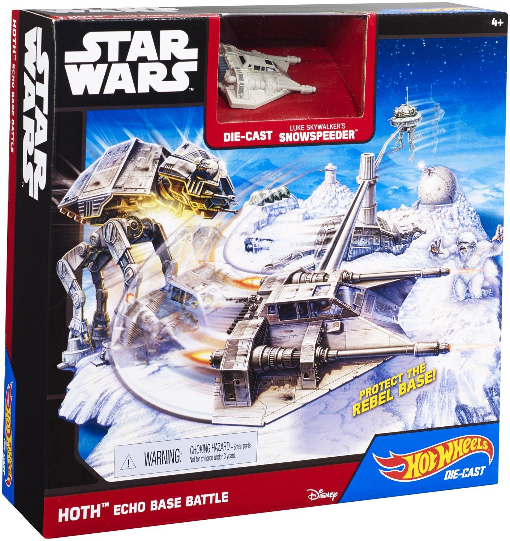 Hot Wheels Hoth Set with Snowspeeder Action- & Spielfiguren
