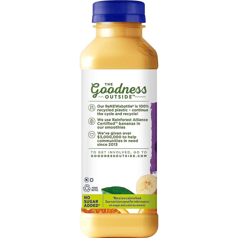 Naked Juice Protein Zone Mango Juice Smoothie 15.2 Oz
