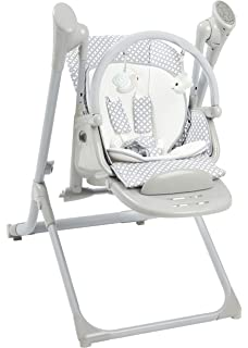Miraculous Amazon Com Pali Pappy Rock High Chair And Swing In Pearl Onthecornerstone Fun Painted Chair Ideas Images Onthecornerstoneorg